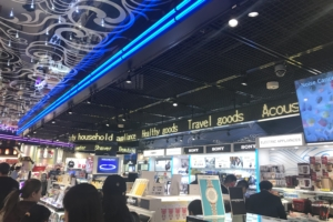 成田空港免税店様 屋内LEDビジョン
