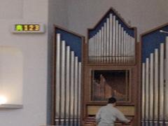 カトリック岡山教会様 LED電光掲示板