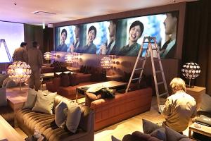 namBa HIPS 飲食店大型LEDビジョン
