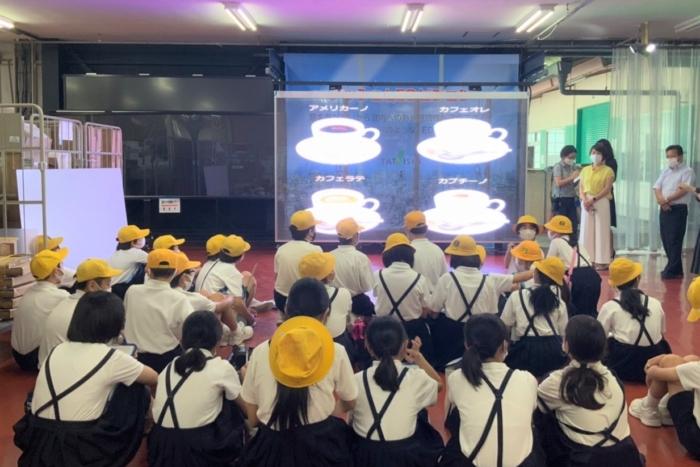 府中明郷学園6年生が会社見学に来てくれました!